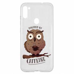 Чохол для Samsung A11/M11 Caffeine Owl
