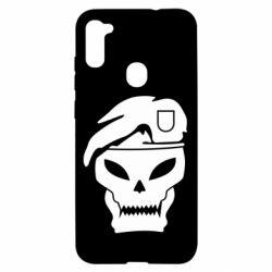 Чехол для Samsung A11/M11 Call of Duty Black Ops logo