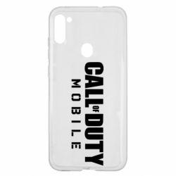 Чехол для Samsung A11/M11 Call of Duty Mobile