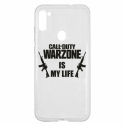 Чехол для Samsung A11/M11 Call of duty warzone is my life M4A1