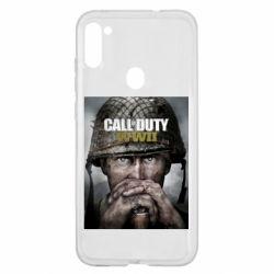Чохол для Samsung A11/M11 Call of Duty WW2 poster