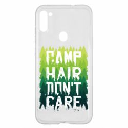 Чехол для Samsung A11/M11 Camp hair don't care