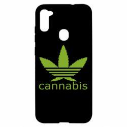 Чохол для Samsung A11/M11 Cannabis