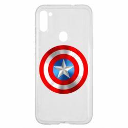 Чехол для Samsung A11/M11 Captain America 3D Shield