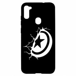 Чохол для Samsung A11/M11 Captain America shield