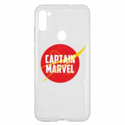 Чохол для Samsung A11/M11 Captain Marvel in NASA style