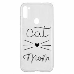 Чохол для Samsung A11/M11 Cat mom