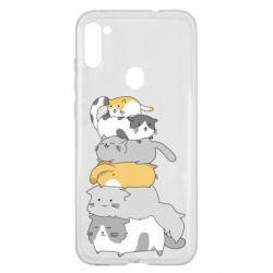 Чохол для Samsung A11/M11 Cats