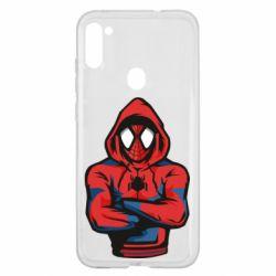 Чохол для Samsung A11/M11 Людина павук в толстовці