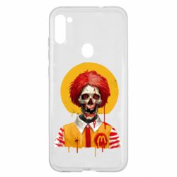 Чохол для Samsung A11/M11 Clown McDonald's skeleton