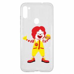 Чохол для Samsung A11/M11 Clown McDonald's