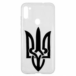 Чехол для Samsung A11/M11 Coat of arms of Ukraine torn inside