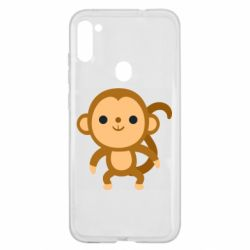 Чохол для Samsung A11/M11 Colored monkey