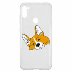 Чохол для Samsung A11/M11 Corgi is dozing