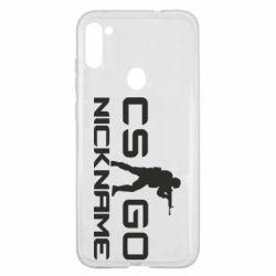 Чехол для Samsung A11/M11 Counter-Strike nickname