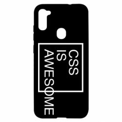 Чохол для Samsung A11/M11 CSS is awesome