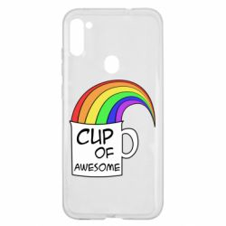 Чехол для Samsung A11/M11 Cup of awesome
