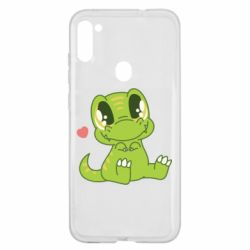 Чохол для Samsung A11/M11 Cute dinosaur