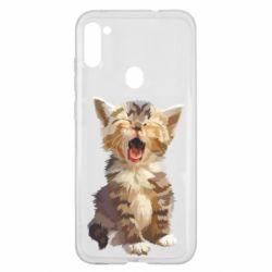 Чохол для Samsung A11/M11 Cute kitten vector