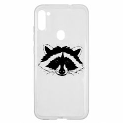 Чохол для Samsung A11/M11 Cute raccoon face