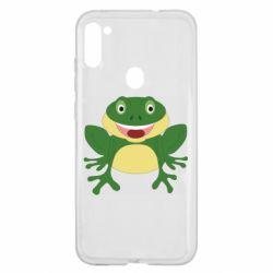 Чехол для Samsung A11/M11 Cute toad