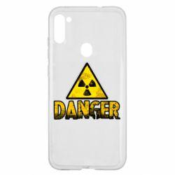 Чохол для Samsung A11/M11 Danger icon