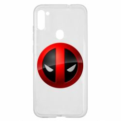 Чехол для Samsung A11/M11 Deadpool Logo