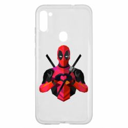 Чохол для Samsung A11/M11 Deadpool Love