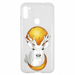 Чехол для Samsung A11/M11 Deer and moon