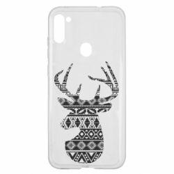 Чохол для Samsung A11/M11 Deer from the patterns