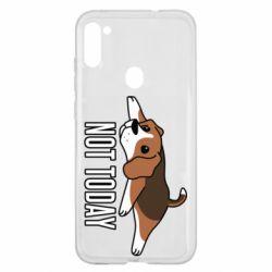 Чехол для Samsung A11/M11 Dog not today