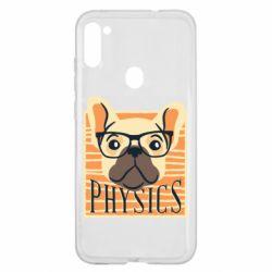 Чехол для Samsung A11/M11 Dog Physicist