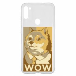 Чохол для Samsung A11/M11 Doge wow meme