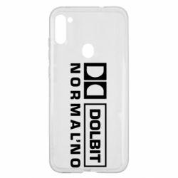 Чехол для Samsung A11/M11 Dolbit Normal'no