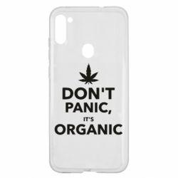 Чехол для Samsung A11/M11 Dont panic its organic