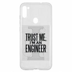 Чохол для Samsung A11/M11 Довірся мені я інженер