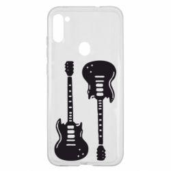 Чохол для Samsung A11/M11 Дві гітари