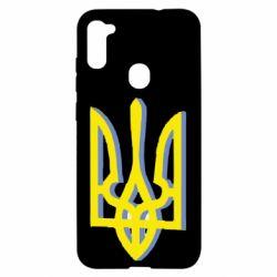 Чехол для Samsung A11/M11 Двокольоровий герб України