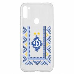 Чехол для Samsung A11/M11 Dynamo logo and ornament