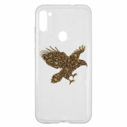 Чехол для Samsung A11/M11 Eagle feather