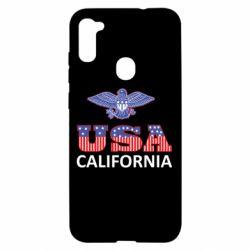 Чехол для Samsung A11/M11 Eagle USA