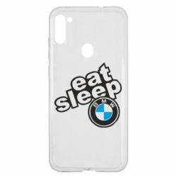 Чохол для Samsung A11/M11 Eat, sleep, BMW
