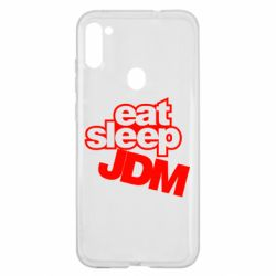 Чехол для Samsung A11/M11 Eat sleep JDM