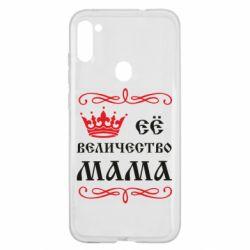 Чехол для Samsung A11/M11 Её величество Мама