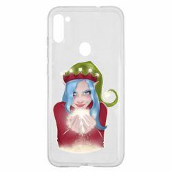 Чехол для Samsung A11/M11 Elf girl