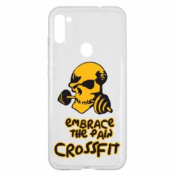 Чехол для Samsung A11/M11 Embrace the pain. Crossfit
