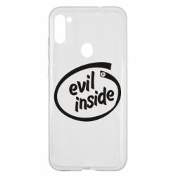 Чехол для Samsung A11/M11 Evil Inside