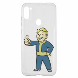 Чехол для Samsung A11/M11 Fallout Boy