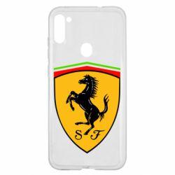 Чехол для Samsung A11/M11 Ferrari