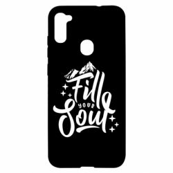 Чохол для Samsung A11/M11 Fill your soul and mountains